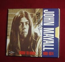 JOHN MAYALL ~ ROOM TO MOVE  1992 2 CD HAND AUTOGRAPHED