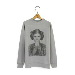 Mens 'Leia' Princess Leia Star Wars Sweatshirt
