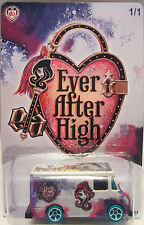 """Hot Wheels CUSTOM COMBAT MEDIC """"Ever After High"""" Limited 1/1 Made!"""