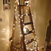 Christmas Fairy String Light Lamp Decor Wedding Xmas Party Warm White 10M 100LED