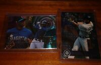 Ken Griffey JR 1995 Ultra Power Plus and Topps Opening Day Insert