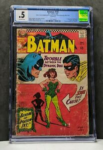 BATMAN #181 D.C. COMICS SILVER AGE CGC GRADED 0.5 POISON IVY 1ST APPEARANCE RARE
