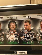 Oakland Raiders Greats Wall Framed Danbury Mint