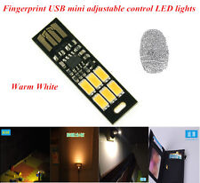 MINI Touch Switch USB mobile power camping lamp LED night light Warm lamp FR+