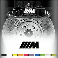Bmw m series premium frein decals graphics stickers