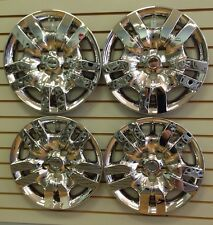 """NEW Bolt-On CHROME Hubcap Wheelcovers that FIT 2007-2012 16"""" Nissan ALTIMA"""