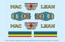 MacLean Bicycle Decals-Transfers-Stickers #3