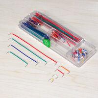 140 pcs U Shape Solderless Breadboard Jumper Cable Wire Kit for Arduino