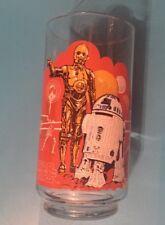 Star Wars R2 D2 C3PO Burger King Coca Cola Collectors Glass Vintage