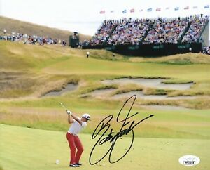 RICKIE FOWLER SIGNED AUTOGRAPHED 8X10 PHOTO GOLF PLAYERS US PGA MASTERS JSA A