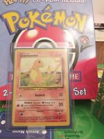 CHARMANDER - Base Set 46/102 - Common - Pokemon Card - Unlimited Edition NM!!!!