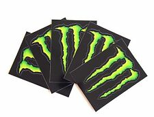 Set of 5 Monster Energy Drink Stickers Decals Skateboard, BMX,Ski, Snowboard