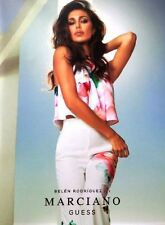GUESS MARCIANO STUNNING SPRING 2016 FASHION CATALOGUE FEAT. BELEN RODRIGUEZ