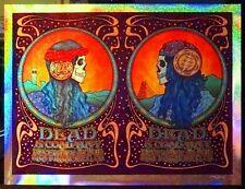 Dead & Co. San Francisco Dave Hunter S/N Sparkle Foil Poster