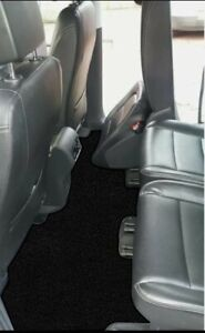 Seat Alhambra 2011 Onwards (new shape) Fully Tailored Car Mats in black Carpet