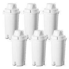 6 x Universal Filter Cartridges to fit Brita Classic Water Filter Jugs