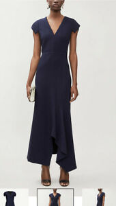 Roland Mouret Kinglake Stretch-crepe Maxi Dress Size 10 BNWT RRP £895