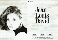 PUBLICITE ADVERTISING 106  1996  Jean- Louis David (2p) les gonflettes & L'Oréal