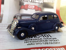 1:43 ZIS-101 1936-1941 (2) Russian LEGEND Diecast + Magazine #77