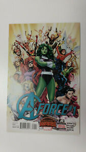 A-FORCE #1  1st Printing - Singularity                      / 2015 Marvel Comics
