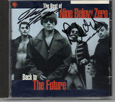 NINE BELOW ZERO - Multi Signed CD by 2 - Back to the Future - MUSIC