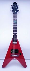 Epiphone Flying Vee Wee Red Mini Electric Guitar with Gig Bag