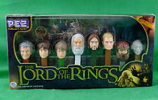 Lord Of The Rings Pez Collectors Series 8 Set 2011 Limited Edition #186492 NIP