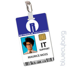Reynholm Industries IT Support - Maurice Moss - Novelty ID