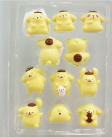 Pom Pom Purin lots pet set of 11pcs PVC Action Figure figures doll toy dolls new