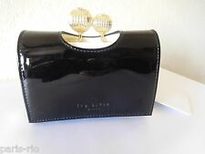 New Ted Baker Etched Bobble Patent Leather Small Purse, Wallet