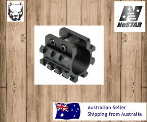 "NcStar Tri-Rail Weaver Style Mount for 1"" Tube shot gun  MT12G"
