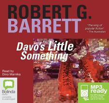 Robert G. BARRETT / DAVO'S little SOMETHING             [ Audiobook ]