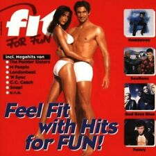 Fit For Fun (1995, incl. Workout-Programm) Juliet Roberts, M People, Ju.. [2 CD]