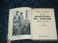 LA POURSUITE DU SOLEIL POLYNESIE BORA BORA / A GERBAULT / 1929  EDIT GRASSET