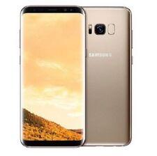 Téléphones mobiles dorés double SIM, 64 Go