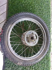 74 Honda CB125 / REAR WHEEL with SPROCKET / 75 CB 125 Chassis