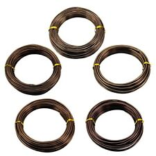 Generic Bonsai Training Wire Set of 5 Size Aluminum Rolls Tree Branch Plant Shap