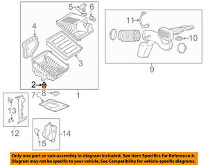 GM OEM Air Cleaner Intake-Air Cleaner Assembly Fastener 22845991