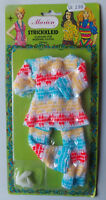"""Vintage - Marion Knit Dress - Doll Outfit - For 11,5 """" Fashion Doll Barbie Clone"""