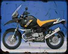 Bmw R1150Gs Adv 6 A4 Photo Print Motorbike Vintage Aged