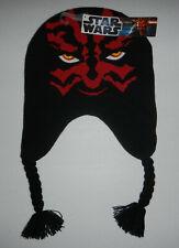 Nwt Star Wars Darth Maul Peruvian Winter Beanie Hat Cap