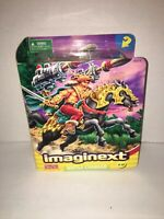Fisher Price Imaginext Battle Charger - NEW - 2002 - w/ Figure Horse Projectiles