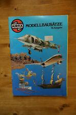 Airfix Katalog Modellbausätze 16. Auflage