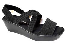 Sz 9 / 40 TS Taking Shape Olympia Wedge Super-comfy Black Wide Shoes RP