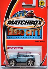 MATCHBOX 2002 HERO-CITY #71 JEEP WILLYS