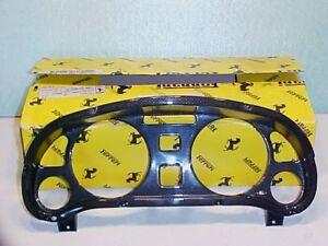 Ferrari 550 Carbon Fiber Dashboard Gauge Instrument Pod Trim_185850_185852_NEW