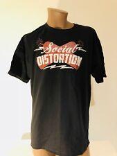 Social Distortion Firecracker Logo  2XL T-shirt New NWOT Mike Ness Skelly Punk