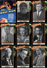 The Wolfman movie trading cards. 1941 classic Horror Lon Chaney werewolf