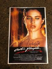 * GIORGIO MORODER * autographed signed 12x18 photo poster * CAT PEOPLE * 3