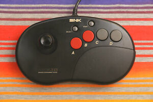 SNK Neo Geo AES CD Controller Pro Joystick Good Working Condition